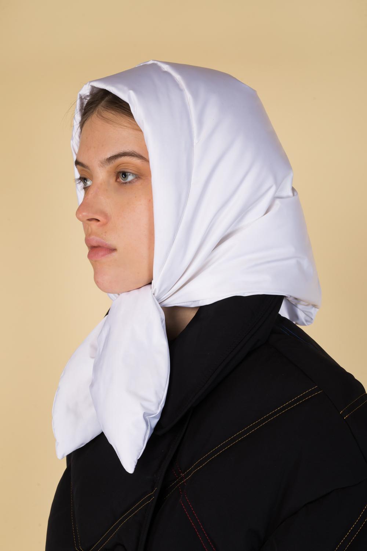 Пуховый шарф HUSTKA