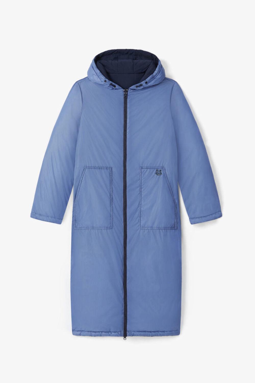 Двустороннее стеганое пальто