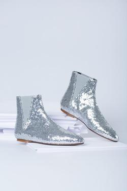 Ботинки Flat Sequins